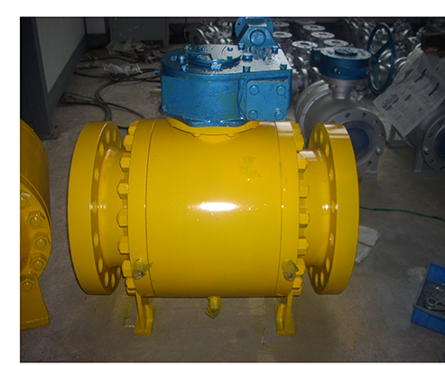 Forged Steel Trunnion Mounted Ball Valve-HFT Valve