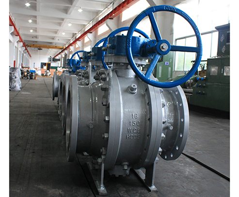 Gear Operated Trunnion Mounted Ball Valves-HFT Valves
