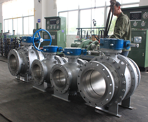 Reduced Bore Trunnion Mounted Ball Valve-HFT Valve