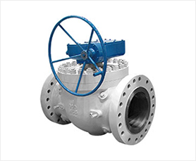 Cast Steel Top Entry Ball Valve