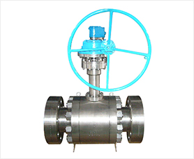Low Temperature Trunnion Mounted Ball Valve-HFT Valves