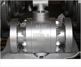Metal Seated Trunnion Mounted Ball Valves-HFT Valve